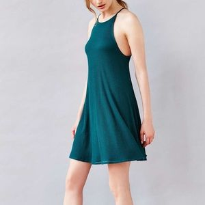 Urban Outfitters silence/noise green skater dress